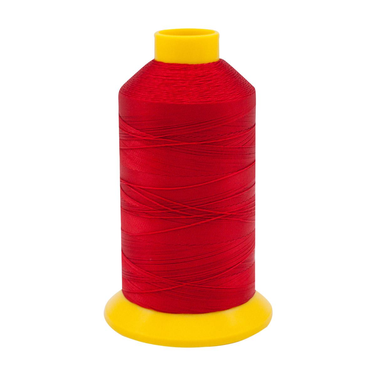 Нить для прошивки документов (филаментная) 420D/3, 1500м, 100% п/э Astra, 1030 красный