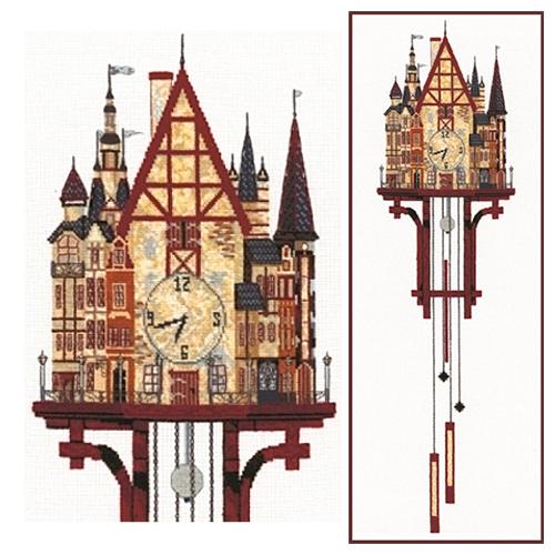 В-10 Набор для вышивания 'Волшебные часы', 30*95 см