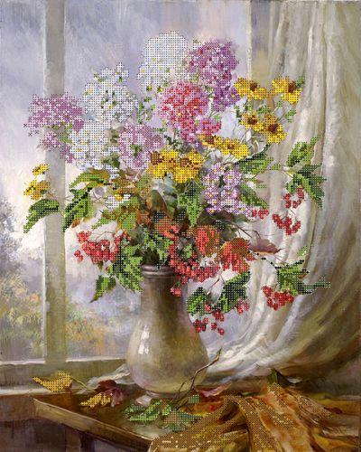 50068 Набор для вышивания бисером Astrea 'Осенний натюрморт', 32х40 см