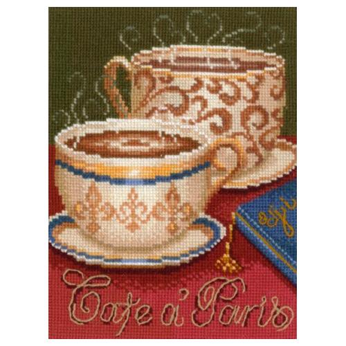 К-21 Набор для вышивания 'Кофе в Париже', 15*21 см