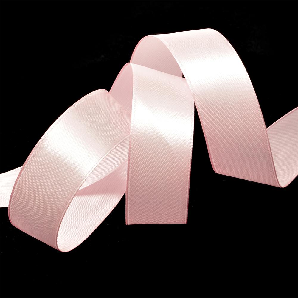Лента атласная 1' (25мм) цв.3053 св.розовый IDEAL уп.27,4 м, 8ЛА1305330