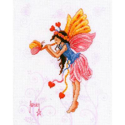 2720-70205 Набор для вышивания Vervaco 'Волшебная фея' 22*29см