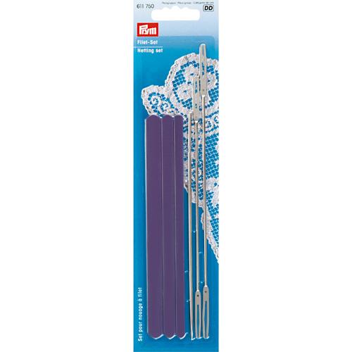 611750 Набор для плетения филейного кружева, Prym