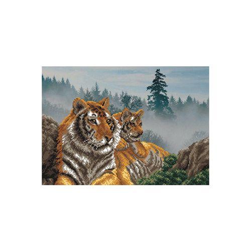 03/Б Набор для вышивания бисером 'Матренин посад' 'Утро в тигровой пади', 37*49 см