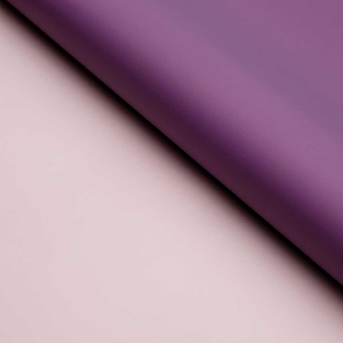 128467 Пленка матовая двухсторонняя 60*60 см, цвет сиреневый