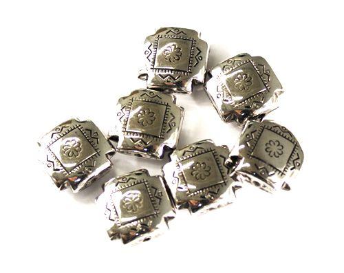 3654 Бусины под металл, 16*7 мм, упак./14 шт., 'Астра'