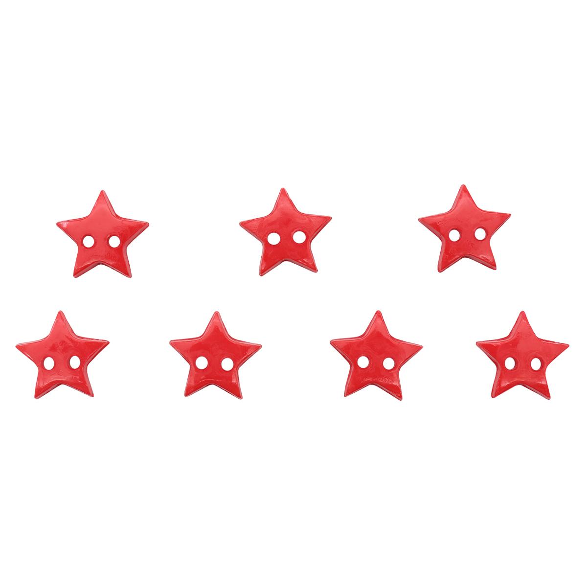 1609 Пуговица 'Звезда', 13 мм