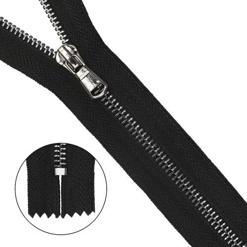 Молния металл-черн. никель неразъемная Т5 - 18см