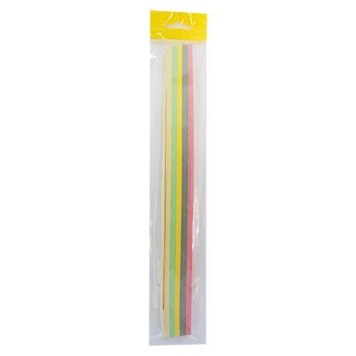 0036-2/10 Набор для квиллинга, ассорти, 5-6 цветов,10 мм, 160 гр./м2, упак./125 л.