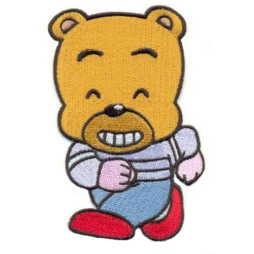 AD1003 Термоаппликация 'Злой медвежонок', 10*6 см, Hobby&Pro