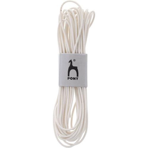 53001 Резинка шляпная 1,5 мм/4 м, белая PONY