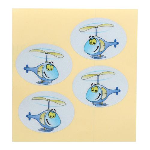Набор цветных наклеек 'Вертолет'