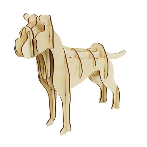 L-758 Деревянная заготовка конструктор 'Сделай сам. Моя собака' 31*24*7,5 см Астра