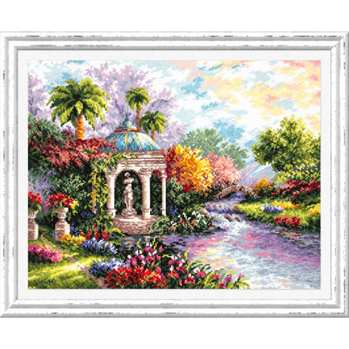 44-20 Набор для вышивания Чудесная игла 'Царство красоты!' 40*32 см