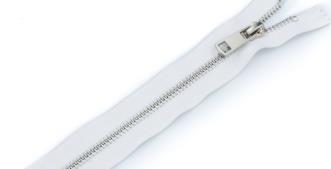 Молния металл №5ТТ никель н/раз 50см D030 белый, 2135001297932