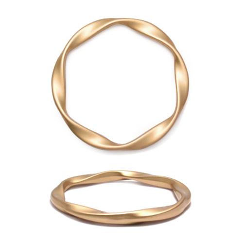 ГД15097 Кольцо мет 40мм, матовое золото