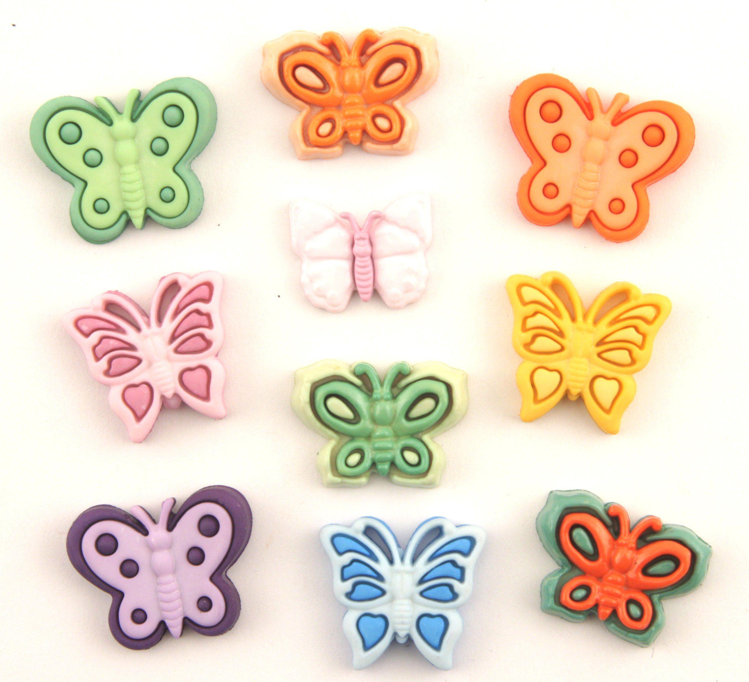 4252, Пуговицы. Бабочки