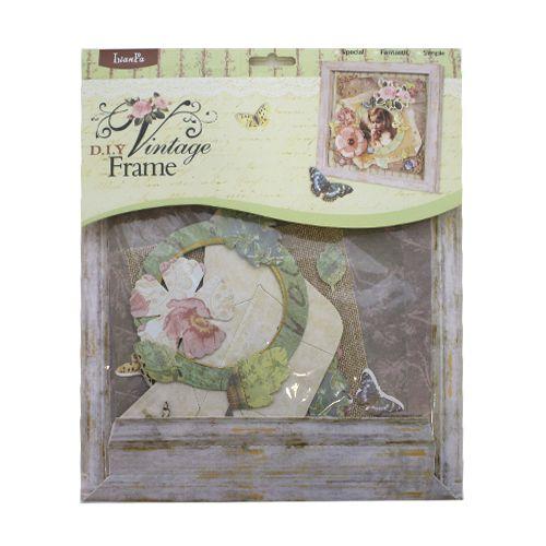 24853 Набор для создания винтажной рамки 'DIY Vintage Frame', LF-AV № 4