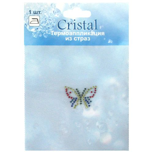 ADS040 Термоаппликация из страз Cristal