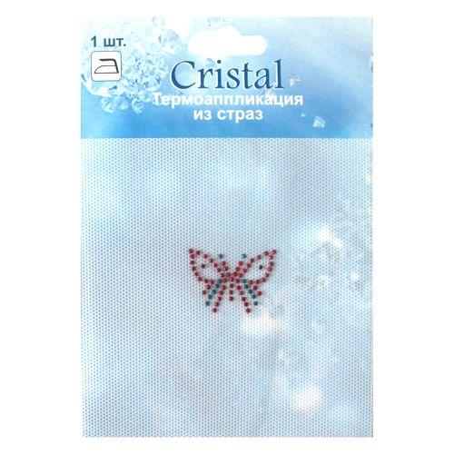 ADS041 Термоаппликация из страз Cristal