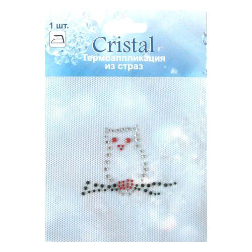 ADS047 Термоаппликация из страз Cristal
