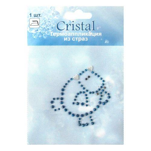 ADS048 Термоаппликация из страз Cristal