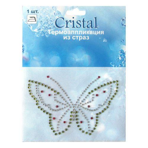 ADS051 Термоаппликация из страз Cristal