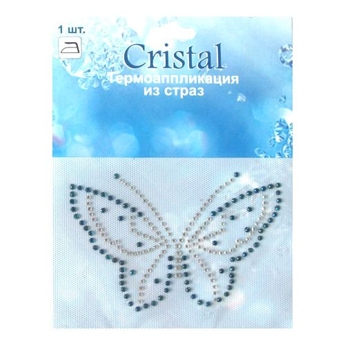 ADS052 Термоаппликация из страз Cristal
