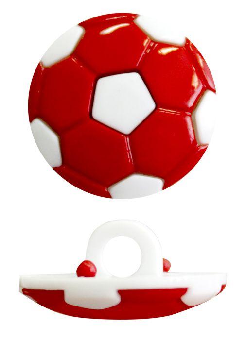 Пуговица, Футбольный мяч (48843) 18мм