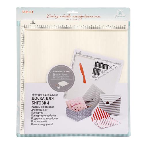 DDB-03 Доска для биговки многофункциональная 30.5x30.5см (Рукоделие)