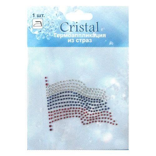 ADS054 Термоаппликация из страз Cristal