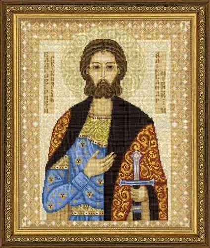 1424 Набор для вышивания Riolis 'Святой князь Александр Невский', 29*35 см