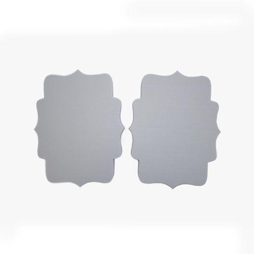Набор фигурок из пенопласта 'Доска №1'(2шт),18*2см