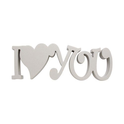 Набор фигурок из пенопласта ' I Love you ',20*20*2см