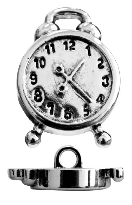 57903 Пуговица 'Будильник', 21 мм