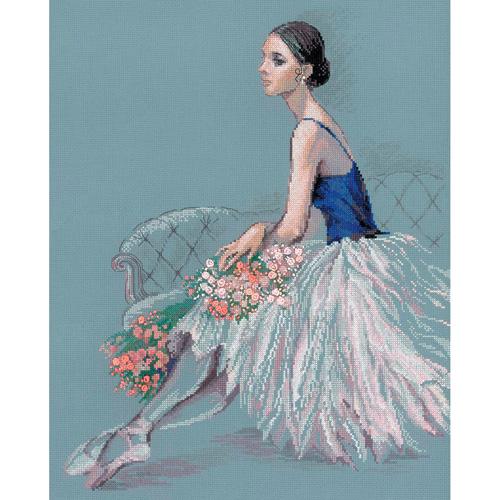 100/054 Набор для вышивания Риолис 'Балерина' 40*50 см