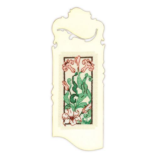 1613АС Набор для вышивания Риолис 'Закладка 'Изящная лилия'' 6*16 см