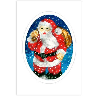 1583 ORCHIDEA Набор для вышивания открытка 10,5х15 см