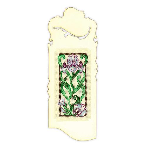 1614АС Набор для вышивания Риолис 'Закладка 'Цветущий ирис'' 6*16 см