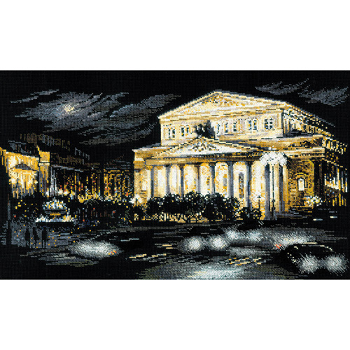 1638 Набор для вышивания Риолис 'Большой театр' 50*30 см