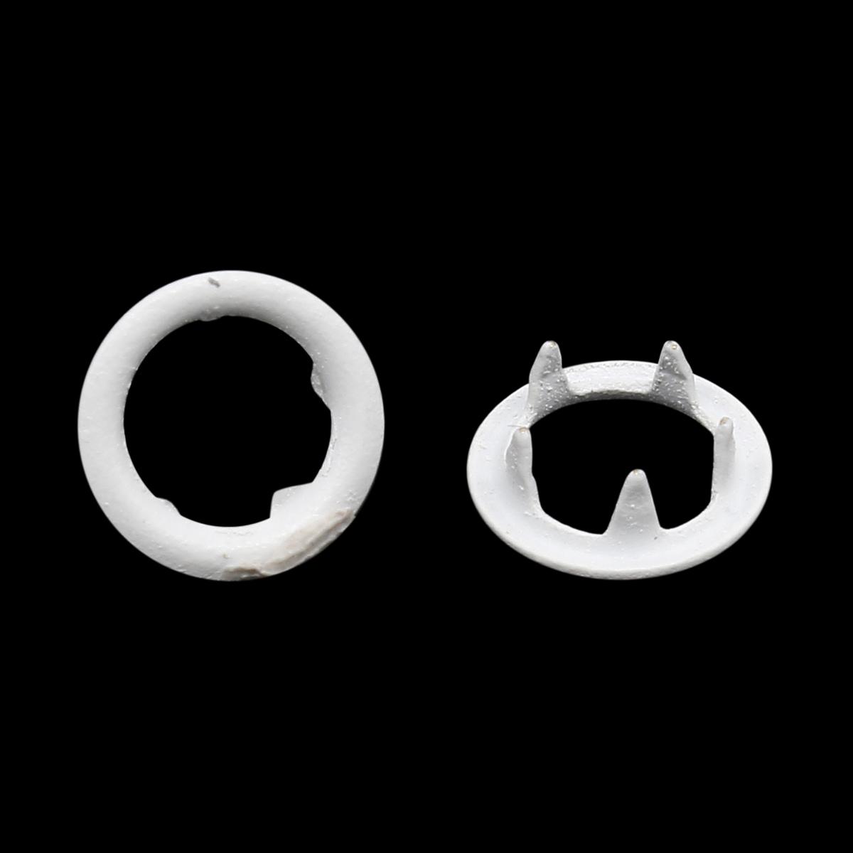 Кнопка трикотажная (кольцо) 7,8мм цв.эмаль, латунь