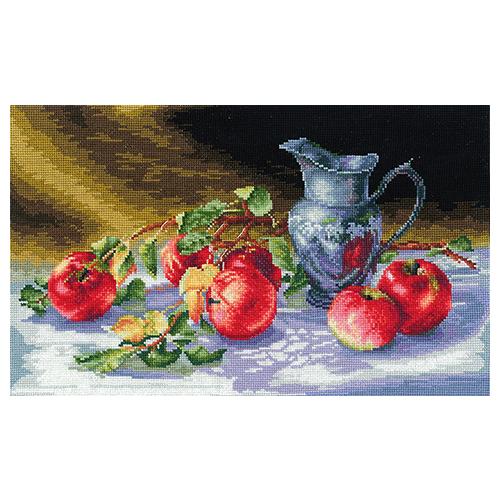 С-27 Набор для вышивания 'Сочные яблоки', 38*25 см
