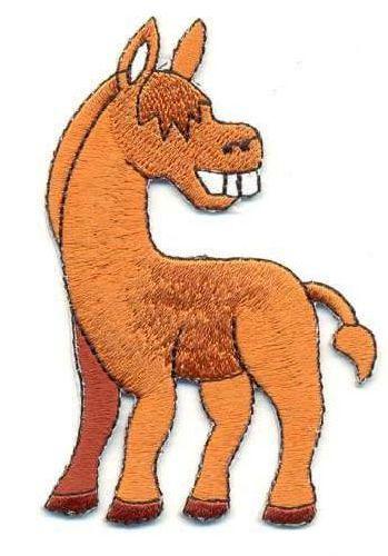 AD1072 Термоаппликация 'Лошадь', 9*5 см, Hobby&Pro