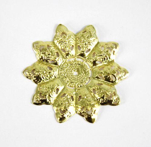 Декоративный элемент 'Цветок', 48 мм, упак./5 шт., 'Астра'