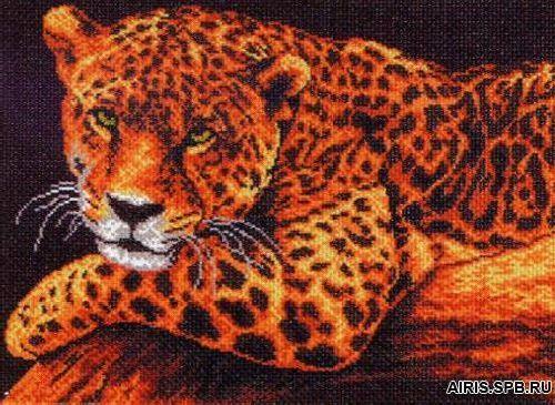 353 Канва с рисунком 'Матренин Посад' 'Ягуар', 37*49 см