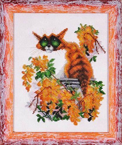 ВН1103 Набор для вышивания Alisena 'Котенок', 22*28 см