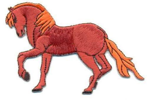 AD1077 Термоаппликация 'Конь', 7*8 см, Hobby&Pro