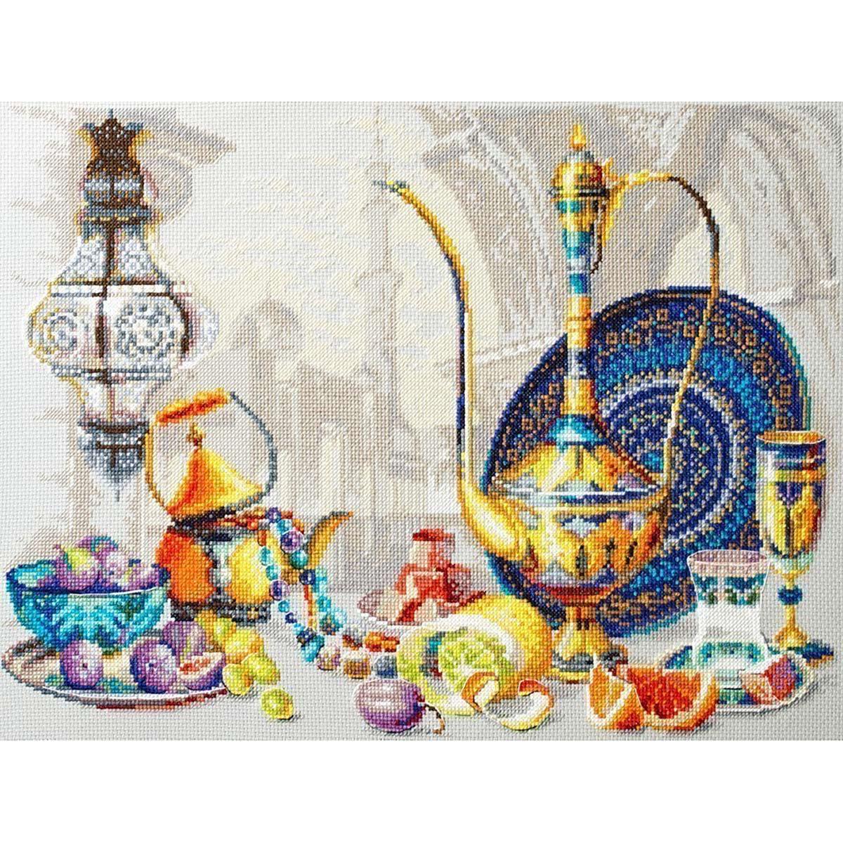 120-301 Набор для вышивания Чудесная игла 'Яркие краски Марокко' 40*30см